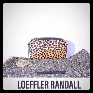 NWT rare auth LOEFFLER RANDALL mini crossbody bag